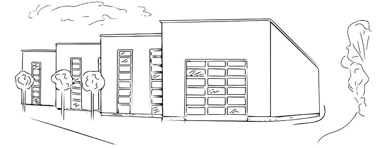 Ansicht SEM-Plastomed Firmengebäude
