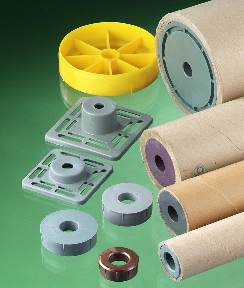 Kunststoffspunde für Secarerollen